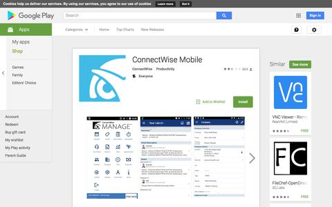 ConnectWise Mobile - Android Apps on Google Play