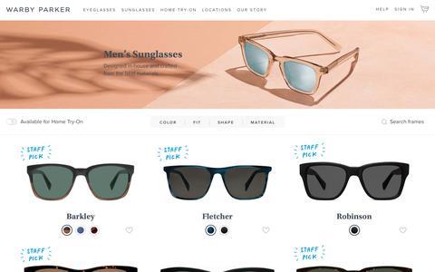 Men's Sunglasses   Warby Parker