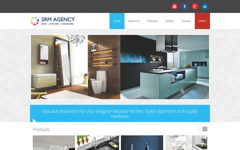 Screenshot of Home Page Blog srmagency.in - SRM Agency - captured Sept. 30, 2014