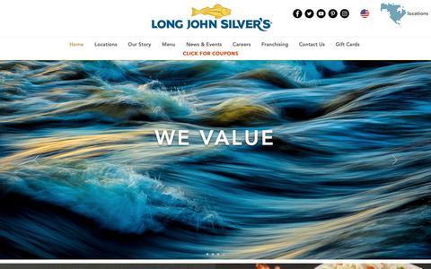 Screenshot of Home Page ljsilvers.com - ljsilvers - captured Feb. 4, 2019