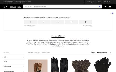 Shop Men's Gloves
