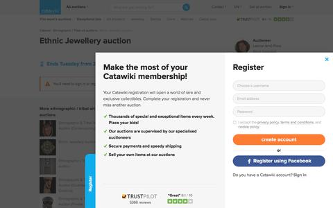 Ethnic Jewellery auction - Catawiki