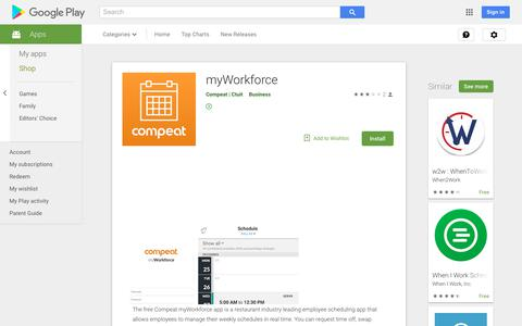 myWorkforce - Apps on Google Play
