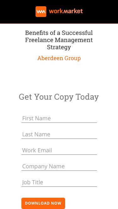 Benefits of a Freelance Management Strategy - WorkMarket