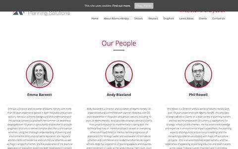 Screenshot of Team Page adamshendry.co.uk - Our People | Adams Hendry - captured Oct. 3, 2018