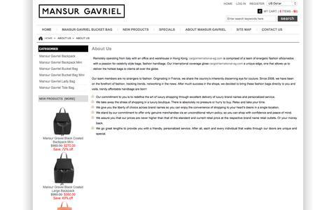 Screenshot of About Page cargointernational-eg.com - About Us : Mansur Gavriel Bucket Bag - 60%OFF- Lower Price Buy Online - captured Jan. 25, 2016