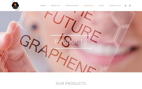 Screenshot of Products Page 2-dtech.com - 2-DTech Graphene |   Products - captured Oct. 19, 2018