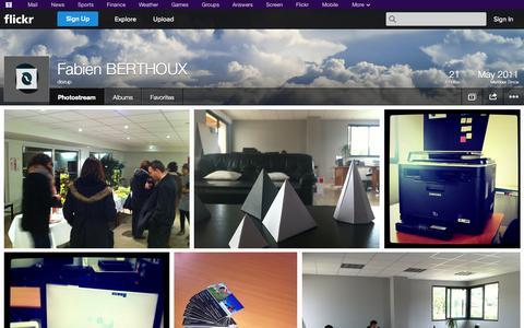 Screenshot of Flickr Page flickr.com - Flickr: dezup's Photostream - captured Oct. 23, 2014