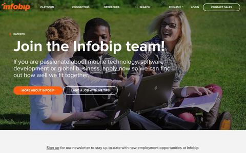 Careers: Join the Infobip team! | Infobip