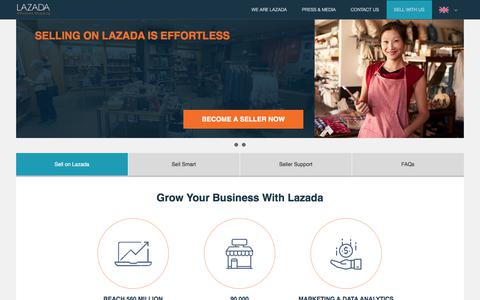 Sell Across Southeast Asia With Lazada