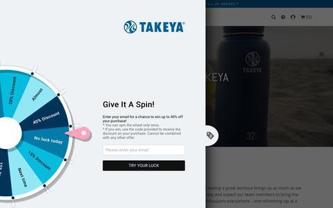 Screenshot of Jobs Page takeyausa.com - Work At Takeya USA | Takeya USA - captured Sept. 20, 2018