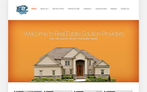 Screenshot of Home Page respnj.com captured Oct. 6, 2014