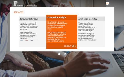 Screenshot of Services Page fabrikatyr.com - FabritaktyrServices - Fabritaktyr - captured Jan. 8, 2016