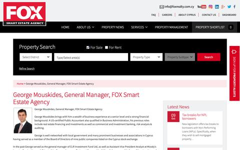 Screenshot of Team Page foxrealty.com.cy - Fox Smart Estate Agency Management Team | Cyprus Estate Agents - captured Oct. 10, 2018