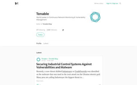 Tenable – Medium