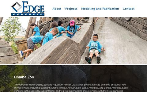 Screenshot of Testimonials Page edgeconcretellc.com - Testimonials | Edge Concrete - captured Sept. 27, 2018