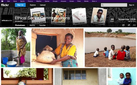 Screenshot of Flickr Page flickr.com - Flickr: ethicalsector's Photostream - captured Oct. 23, 2014