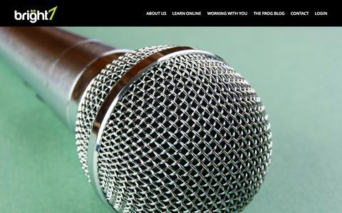 Screenshot of Testimonials Page bright7.co.uk - Testimonials | Bright 7Bright 7 - captured Sept. 30, 2014