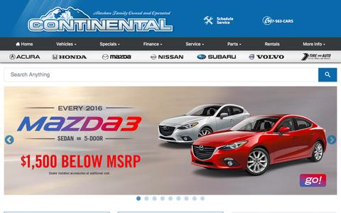 Screenshot of Testimonials Page continentalautogroup.com - Continental Auto Group - Serving Alaskans Since 1971 - captured May 21, 2017
