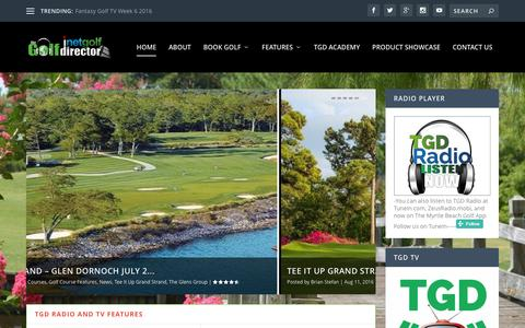 TheGolfDirector.com | Myrtle Beach Golf Course News and Information