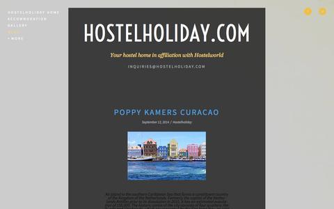 Screenshot of Blog hostelholiday.com - Blog — HostelHoliday.com - captured Sept. 30, 2014