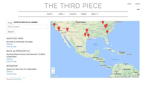 Store Locator | The 3rd Piece