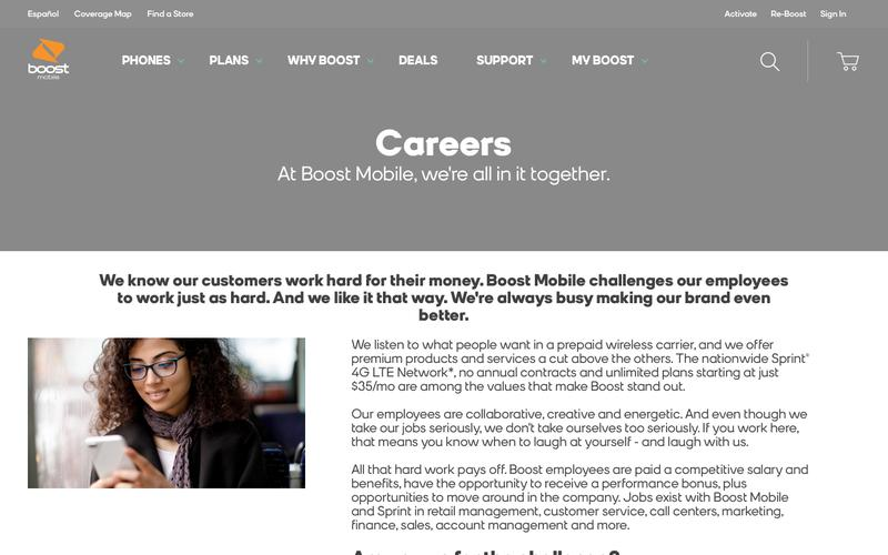 Boost Mobile   Competitive Intelligence and Insights   Crayon