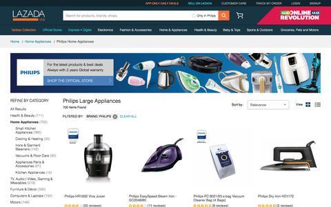 Buy Philips Large Appliances | Induction-Lazada.sg