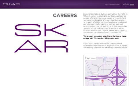 Careers – SKAR Advertising