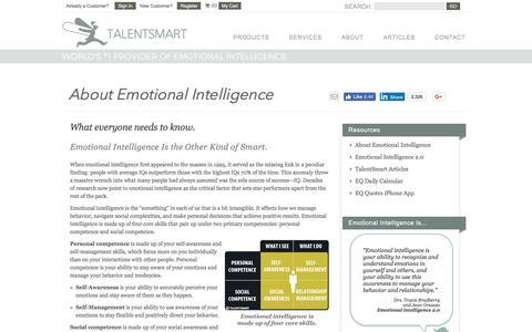 About Emotional Intelligence
