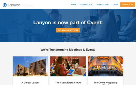 Lanyon | Event Management Software | Corporate Travel Software