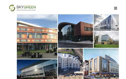 Screenshot of Case Studies Page sky-green.co.uk - Case Studies - Sky Green - captured Oct. 5, 2017