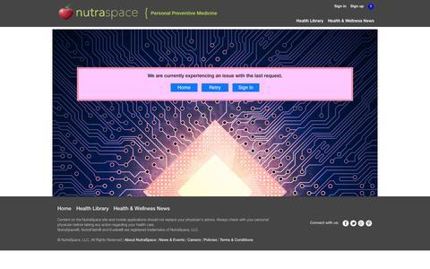 Screenshot of Signup Page nutraspace.com - NutraSpace - captured Sept. 17, 2014