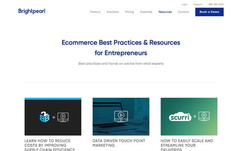eCommerce Webinars - Brightpearl