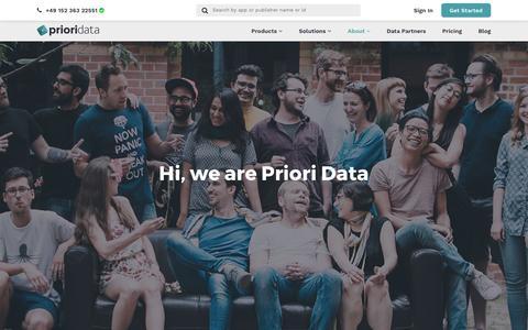 Our Team | PRIORI DATA