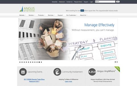 Angus Systems | Solutions to optimize your commercial real estate operations