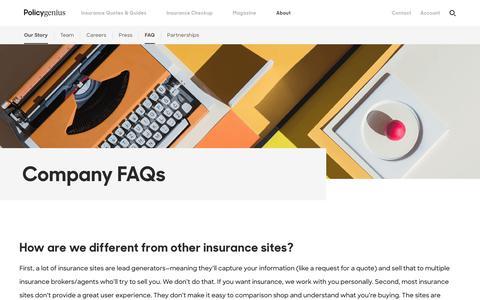 Company FAQs