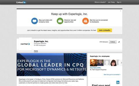 Experlogix, Inc. | LinkedIn