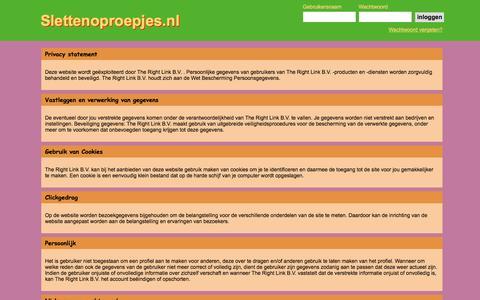 Screenshot of Privacy Page slettenoproepjes.nl - Slettenoproepjes.nl - Al 20 jaar de beste plek voor een sexdate - captured Jan. 23, 2017