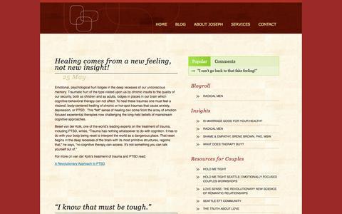 Screenshot of Blog josephlosi.com - Blog | Joseph Losi - captured Oct. 6, 2014