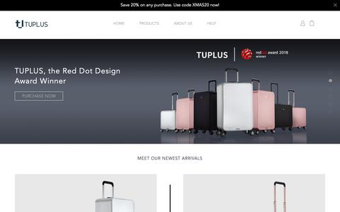 Screenshot of Home Page hessenngroup.us - Luxury Travel Luggage For Business Travelers | Business Trip Luggage - Luxury Travel Bags For Sale - captured Dec. 13, 2018