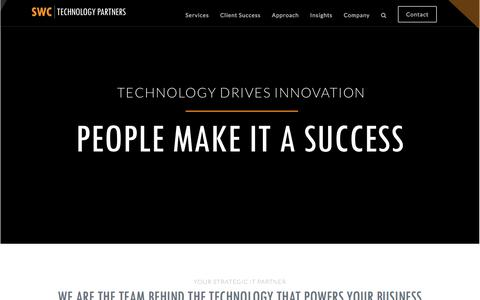Chicago IT Consulting & Solutions Provider   SWC Technology Partners