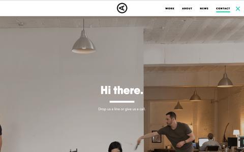 Screenshot of Contact Page actualsize.com - Contact – Actual Size - captured Oct. 7, 2017