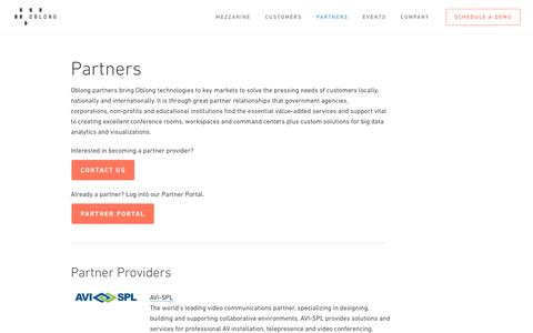 Partners - Oblong Industries
