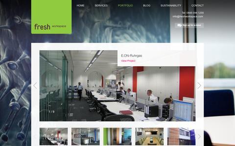 Screenshot of Case Studies Page freshworkspace.com - Case Studies - Fresh Workspace - captured Oct. 6, 2014