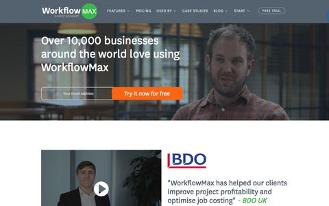 Customer Case Studies | WorkflowMax