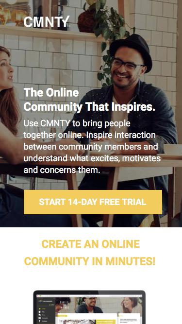 Online Community that Inspires Interaction