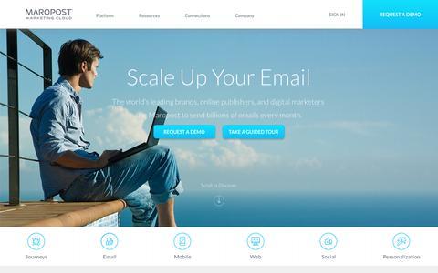 Home | Maropost Marketing Cloud