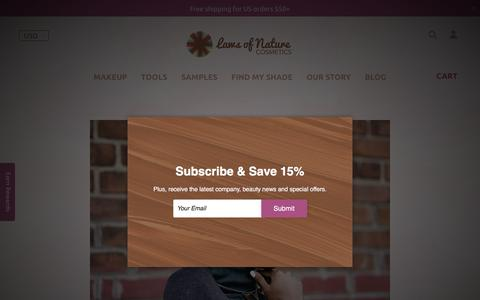 Screenshot of Blog lawsofnaturecosmetics.com - Blog | Laws of Nature Cosmetics® - captured Sept. 11, 2019