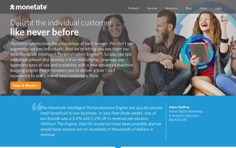 Monetate Intelligent Personalization Engine™ | Ecommerce…